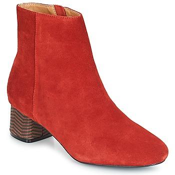Čevlji  Ženske Gležnjarji André EUFORIA Rdeča