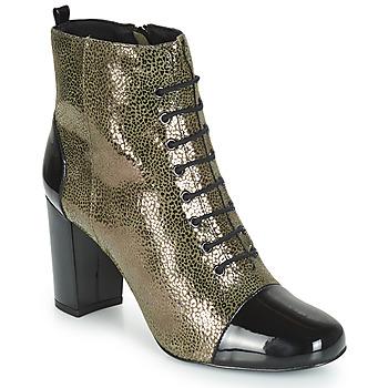 Čevlji  Ženske Gležnjarji André CONGA Kaki
