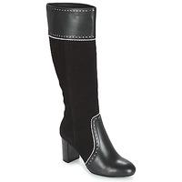 Čevlji  Ženske Mestni škornji    André DOLORES Črna