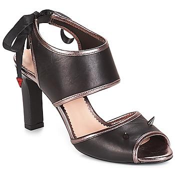 Čevlji  Ženske Sandali & Odprti čevlji André NEVERLAND Črna