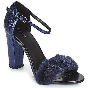 Čevlji  Ženske Sandali & Odprti čevlji André WANDA Modra