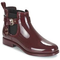 Čevlji  Ženske škornji za dež  André THAMES Bordo