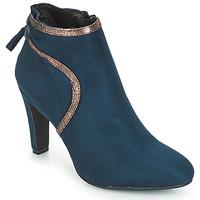 Čevlji  Ženske Gležnjarji André AUREL Modra