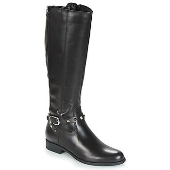 Čevlji  Ženske Mestni škornji    André TESS Črna