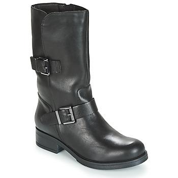 Čevlji  Ženske Mestni škornji    André TOPI Črna