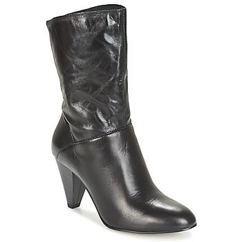 Čevlji  Ženske Mestni škornji    André FEVER Črna