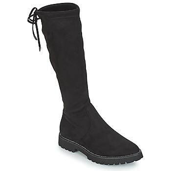 Čevlji  Ženske Mestni škornji    André ABATOR Črna
