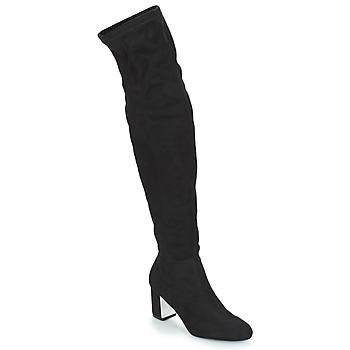 Čevlji  Ženske Mestni škornji    André FANN Črna