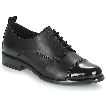 Čevlji  Ženske Čevlji Derby André TEDORA Črna