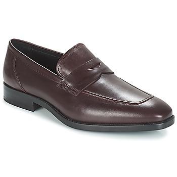Čevlji  Moški Mokasini André MOC Bordo