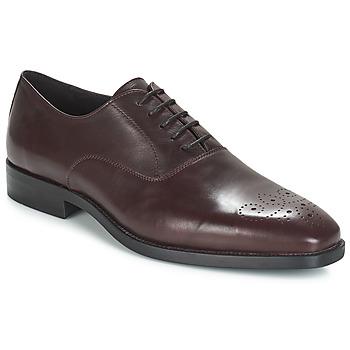 Čevlji  Moški Čevlji Richelieu André DIAMOND Bordo