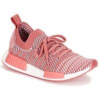 Čevlji  Ženske Nizke superge adidas Originals NMD R1 STLT PK W Rožnata