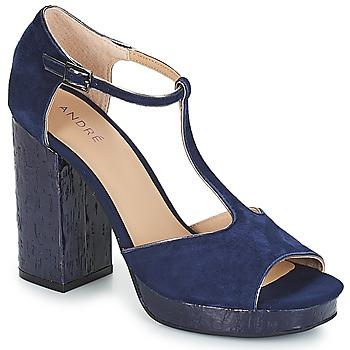 Čevlji  Ženske Sandali & Odprti čevlji André TORRIDE Modra