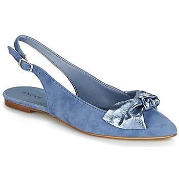 Čevlji  Ženske Balerinke André LARABEL Modra
