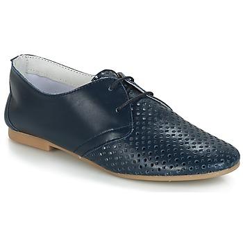 Čevlji  Ženske Čevlji Derby André DELICATESSE Modra