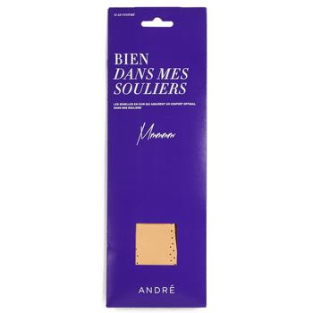 Dodatki  Dodatki  André SEMELLE CUIR Bež