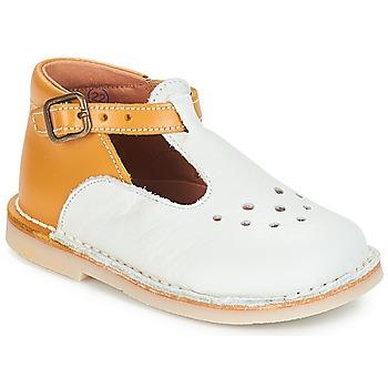 Čevlji  Deklice Balerinke André FALAISE Kremno bela