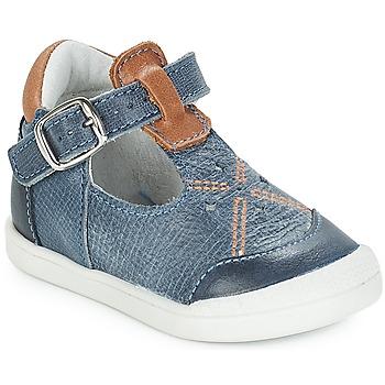 Čevlji  Deklice Balerinke André POCHOIR Modra