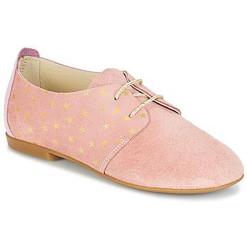 Čevlji  Deklice Čevlji Derby André CELESTINE Rožnata