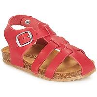 Čevlji  Otroci Sandali & Odprti čevlji André AVIRON Rdeča