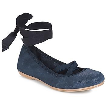 Čevlji  Deklice Balerinke André ELEANOR Modra