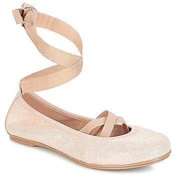 Čevlji  Deklice Balerinke André ELEANOR Rožnata