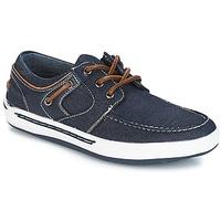 Čevlji  Dečki Mokasini & Jadralni čevlji André MIKA 3 Modra