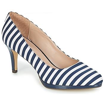 Čevlji  Ženske Salonarji André CRYSTAL Striped / Modra
