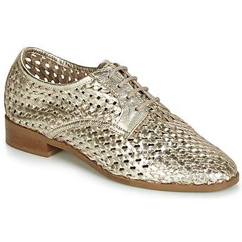 Čevlji  Ženske Čevlji Derby André TRANSAT Zlata
