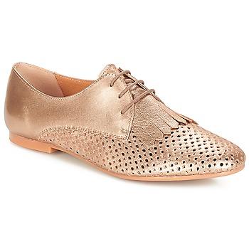 Čevlji  Ženske Čevlji Derby André DELICAT Zlata