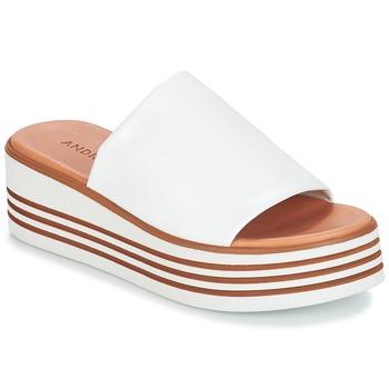 Čevlji  Ženske Sandali & Odprti čevlji André LARRY Bela