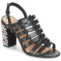 Čevlji  Ženske Sandali & Odprti čevlji André DJEMBE Črna