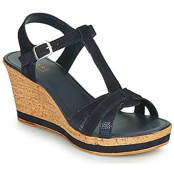 Čevlji  Ženske Sandali & Odprti čevlji André ALOE Modra