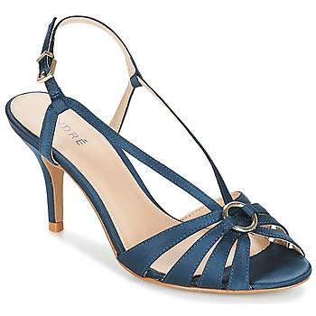 Čevlji  Ženske Sandali & Odprti čevlji André MIRABELLE Modra
