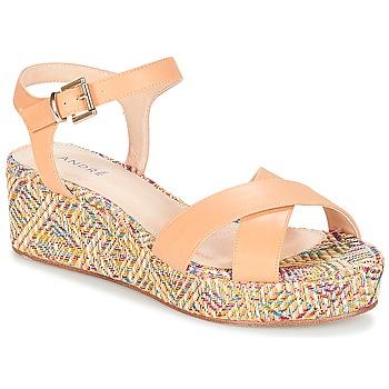 Čevlji  Ženske Sandali & Odprti čevlji André KEA Kremno bela