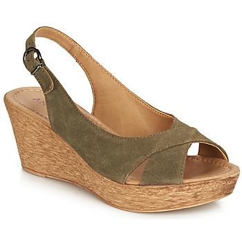 Čevlji  Ženske Sandali & Odprti čevlji André DESTINY Kaki