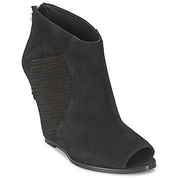 Čevlji  Ženske Gležnjarji Ash LYNX Črna