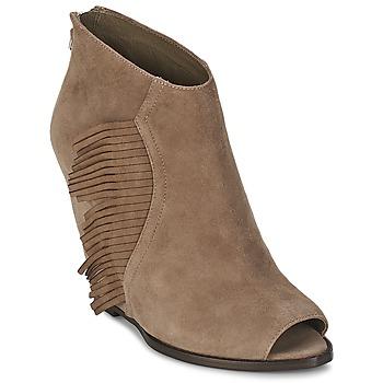 Čevlji  Ženske Gležnjarji Ash LYNX Taupe
