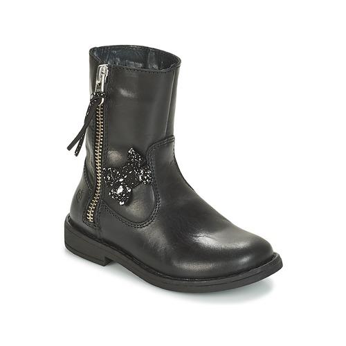Čevlji  Deklice Polškornji Citrouille et Compagnie JARINDA Črna