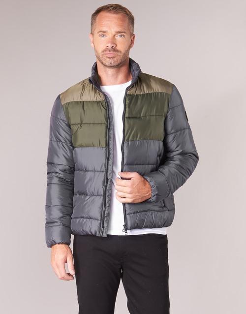 Oblačila Moški Puhovke Emporio Armani EA7 MOUNTAIN M MEDIUM TRITONAL JACKET Črna / Kaki