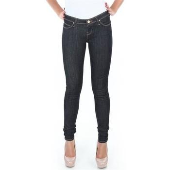 Oblačila Ženske Jeans skinny Lee Spodnie  Toxey Rinse Deluxe L527SV45 blue
