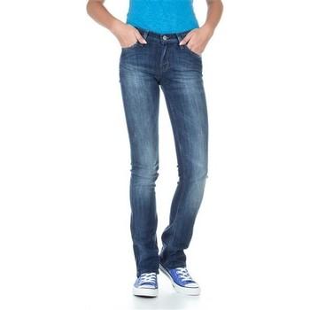 Oblačila Ženske Kavbojke slim Lee Bonnie L302ALFR blue