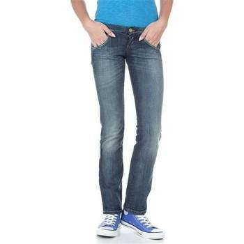 Oblačila Ženske Jeans straight Lee Lynn L38418HD blue