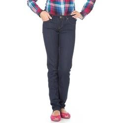 Oblačila Ženske Kavbojke slim Lee Jeans  Lynn Straight  L333EYCU blue