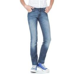 Oblačila Ženske Kavbojke slim Lee Marlin L337AMPI blue