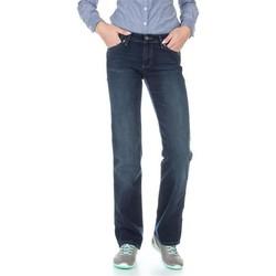 Oblačila Ženske Jeans straight Wrangler Sara W212QC818 navy