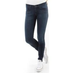 Oblačila Ženske Jeans skinny Wrangler Spodnie Damskie CORYNN BLUE SHELTER W25FU466N blue