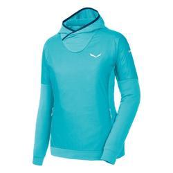 Oblačila Ženske Flis Salewa Bluza  Pedroc PTC Alpha W Hoody 26355 blue