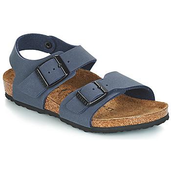 Čevlji  Dečki Sandali & Odprti čevlji Birkenstock NEW YORK Modra