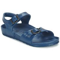 Čevlji  Deklice Sandali & Odprti čevlji Birkenstock RIO EVA Modra